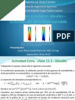 11. Diseño de reactores ideales - Sistemas de densidad variable_Parte II_2019-II.pdf
