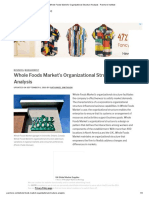 Whole Foods Market's Organizational Structure Analysis - Panmore Institute.pdf