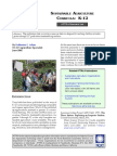 Sustainable Agriculture Curricula