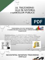 Rolul trezorariei statului in sistelul finantelor publice