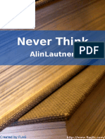 AlinLautner - Never Think