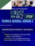 CLASE QUIMICA 2 ESTADOS DE LA MATERIA