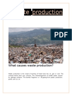 Waste  production