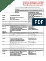 2017 Metabolomics Symposium Agenda1