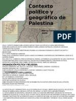 Contexto político y geográfico de Palestina