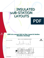 HV AIR INSULATED SUBSTATION LAYOUT