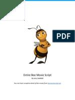 Bee Movie Script