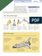 Space Shuttles - Activities