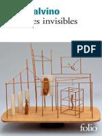 CALVINO Italo, 2014. Les villes invisibles, Gallimard.pdf