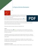 Medicamente hipocolesterolemiante
