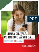 3 Lumea digitala Adolescenti