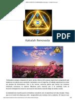 BENDICIONES DE LA MAÑANA(Birkot Hashajar) - Kabalah Renovada.pdf