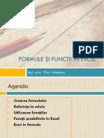 2_Formule şi funcţii in Excel