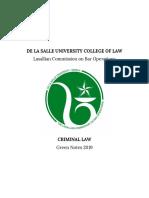 Criminal Law DLSu Part (1)-1-10