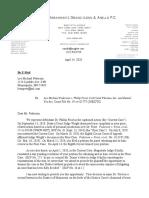 4.14.20 Letter From R. Anello to L. Pederson