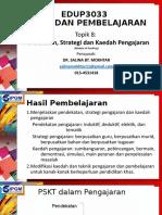 Tajuk 8 Pendekatan, Strategi dan Kaedah Pengajaran.pptx