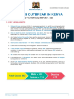 COVID-19 OUTBREAK IN KENYA DAILY SITUATION REPORT - 032