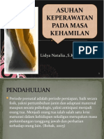 ASKEP PADA MASA KEHAMILAN