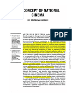 3. The Concept of National Cinema- Andrew Higson