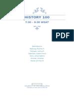 Hist 100