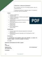 Impostos diferidos - casos praticos