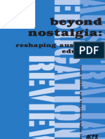 (Australian Education Review 44) Terri Seddon, Lawrence B. Angus - Beyond Nostalgia_ Reshaping Australian Education (Australian Education Review No. 44)-Australian Council for Educational Research (20.pdf