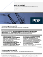 Bemessungsstromausfall - Basisszenario für die Risikoanalyse und die Katastrophenschutzplanung