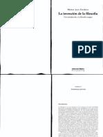 CORDERO, Néstor - La invención de la filosofía (Selección)
