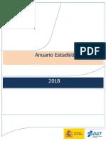 Anuario Estadistico General 2018