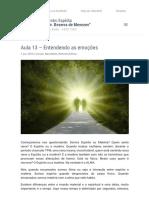 Aula 13 – Entendendo as emoções _ Centro Espírita Dr Bezerra de Menezes