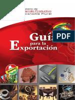 GUIA DE EXPORTACIONES BOLIVIA