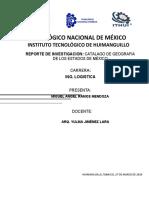 CATALAGO DE GEOGRAFIA DE LOS ESTADOS DE MÉXICO.docx