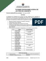 LINEAMIENTOS SOBRE EXPOSICIONES ACERCA DE LOS TIPOS DE CONCRETO -3