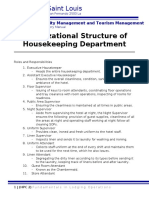 Organizational Structure of Housekeeping Department.docx