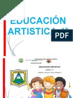 PLAN DE AULA  EDUCACIÓN ARTISTICA 5°