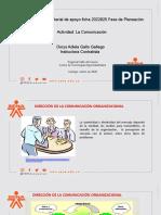Material de apoyo - La Comunicación 2