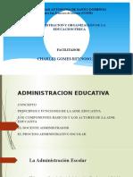ADMINISTRACION EDUCATIVA CLASES