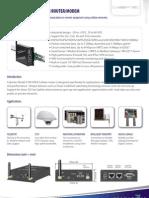 Madison Tech 3G Modem Data Sheet