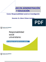 RSU para doctorado