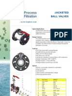 Jacketed Ball Valves Leaflet