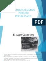 Ecuador,Segundo Periodo Republicano 9831587679679