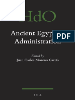 (Handbook of Oriental Studies - Handbuch der Orientalistik_ Section 1, Ancient Near East, Vol. 104) Juan Carlos Moreno García - Ancient Egyptian Administration-Brill Academic Pub (2013) (2).pdf