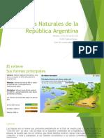 Bases Naturales de la República Argentina