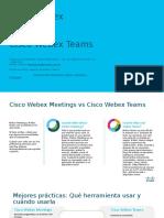 Webex Meetings VS Webex Teams