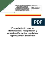 04 Procedimiento para la identificación, recopilación y actualización de los requisitos legales y otros requisitos.docx