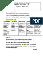 ROTEIRO DE ATIVIDADES- 1ºsemana