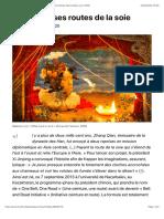 Les sinueuses routes de la soie, par Martine Bulard (Le Monde diplomatique, avril 2020)