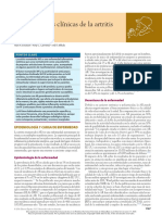 Caracteristicas clinicas de AR