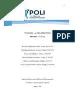Primera entrega Proyecto Teorias de las Organizaciones En curso