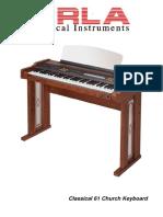 Classical 61 Catalog.
